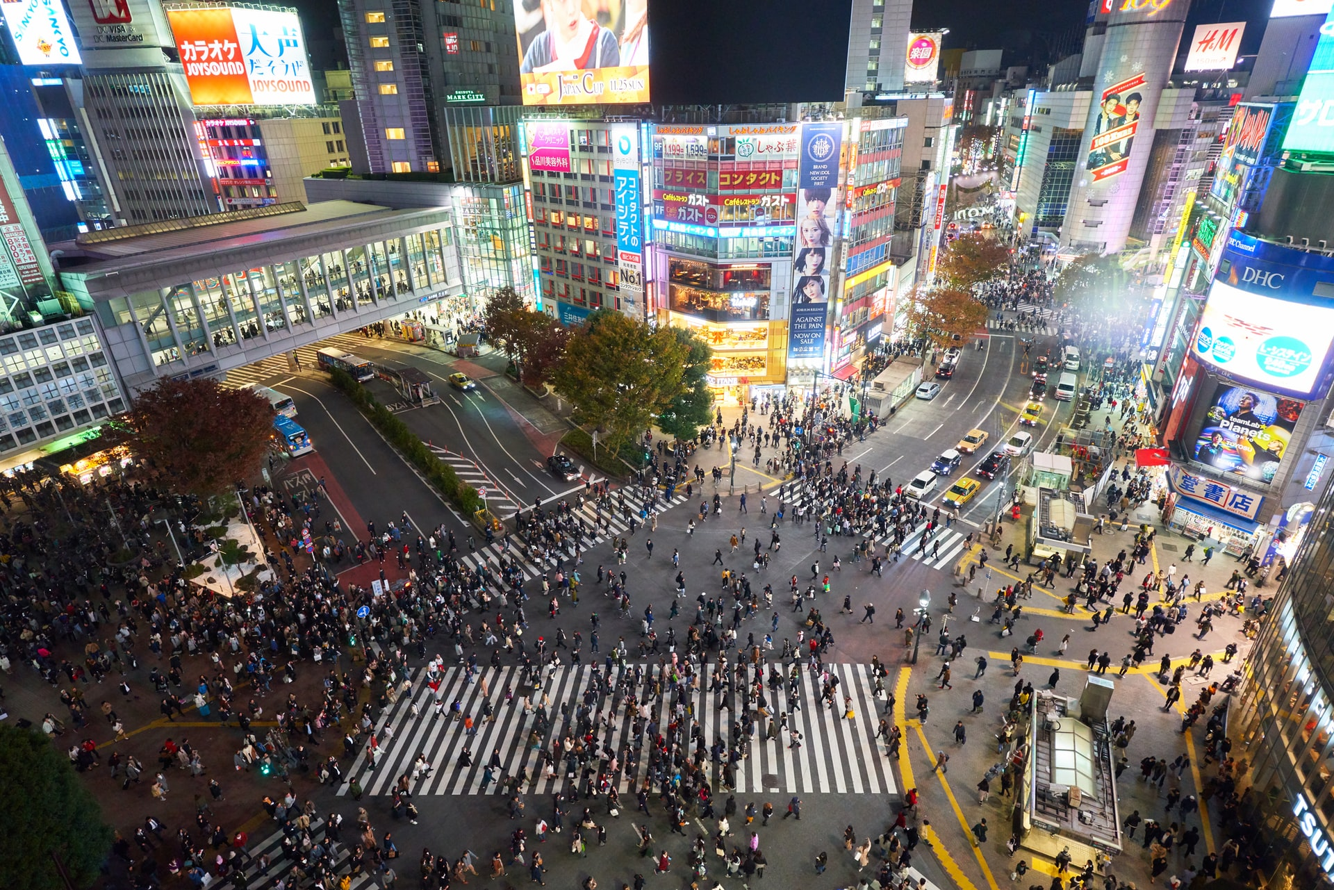 Tokyo : Mouvements et animations